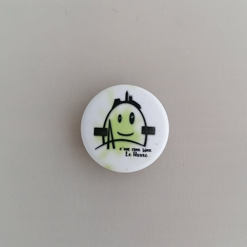 Badge le petit Auguste vert