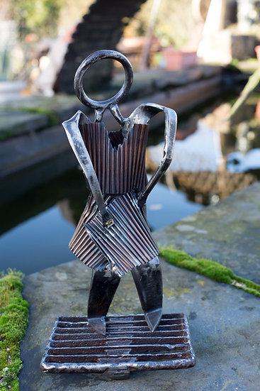 Sculpture Mayline métal recyclé