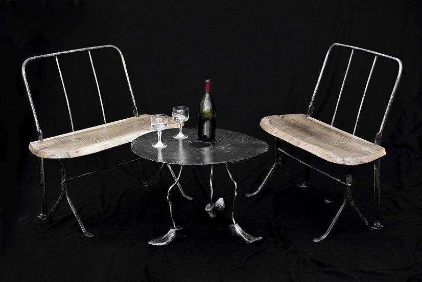 Table basse claquette