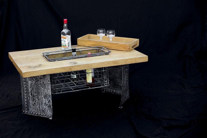 Table basse avec bar intégré