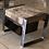 Thumbnail: Table basse cube avec casiers métal