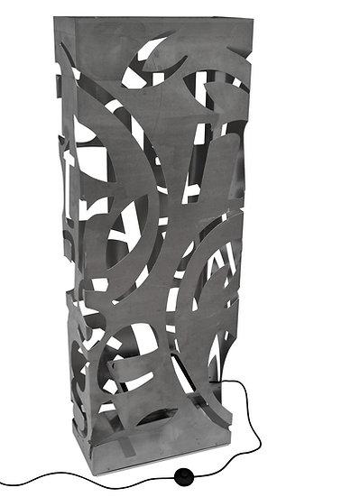 Totem Sculpture de jour & lampe animée de nuit,