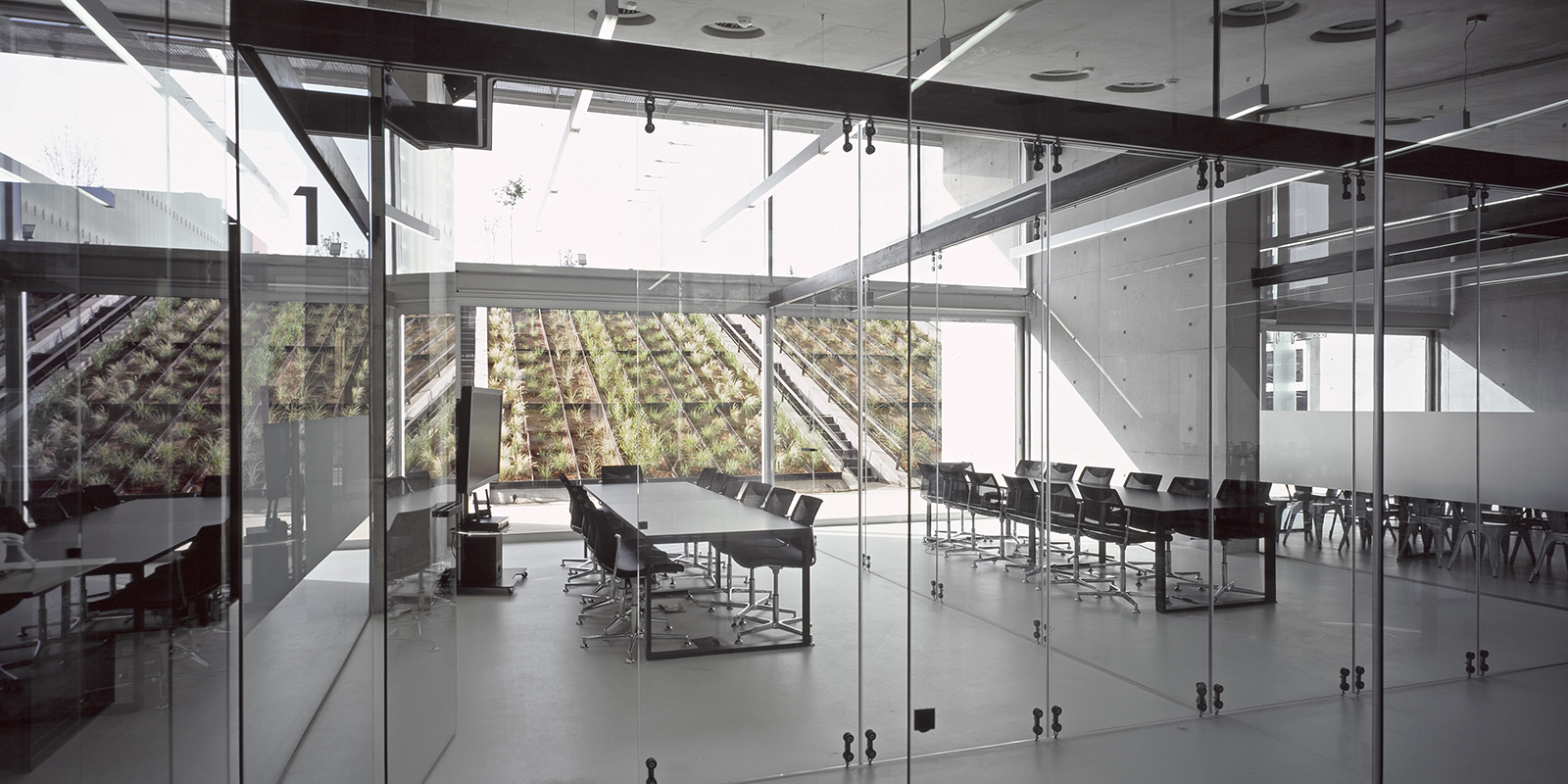 Conference rooms on the ground floor