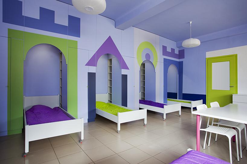 Φωλίτσες - χώρος ύπνου για παιδιά