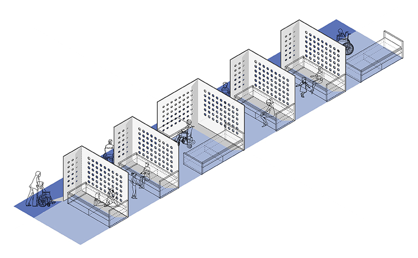 Nooks Axonometric plan