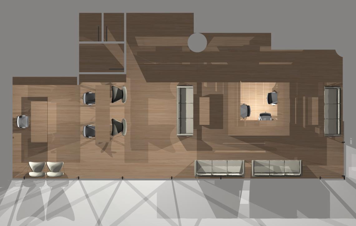 Floor Plan Corridor