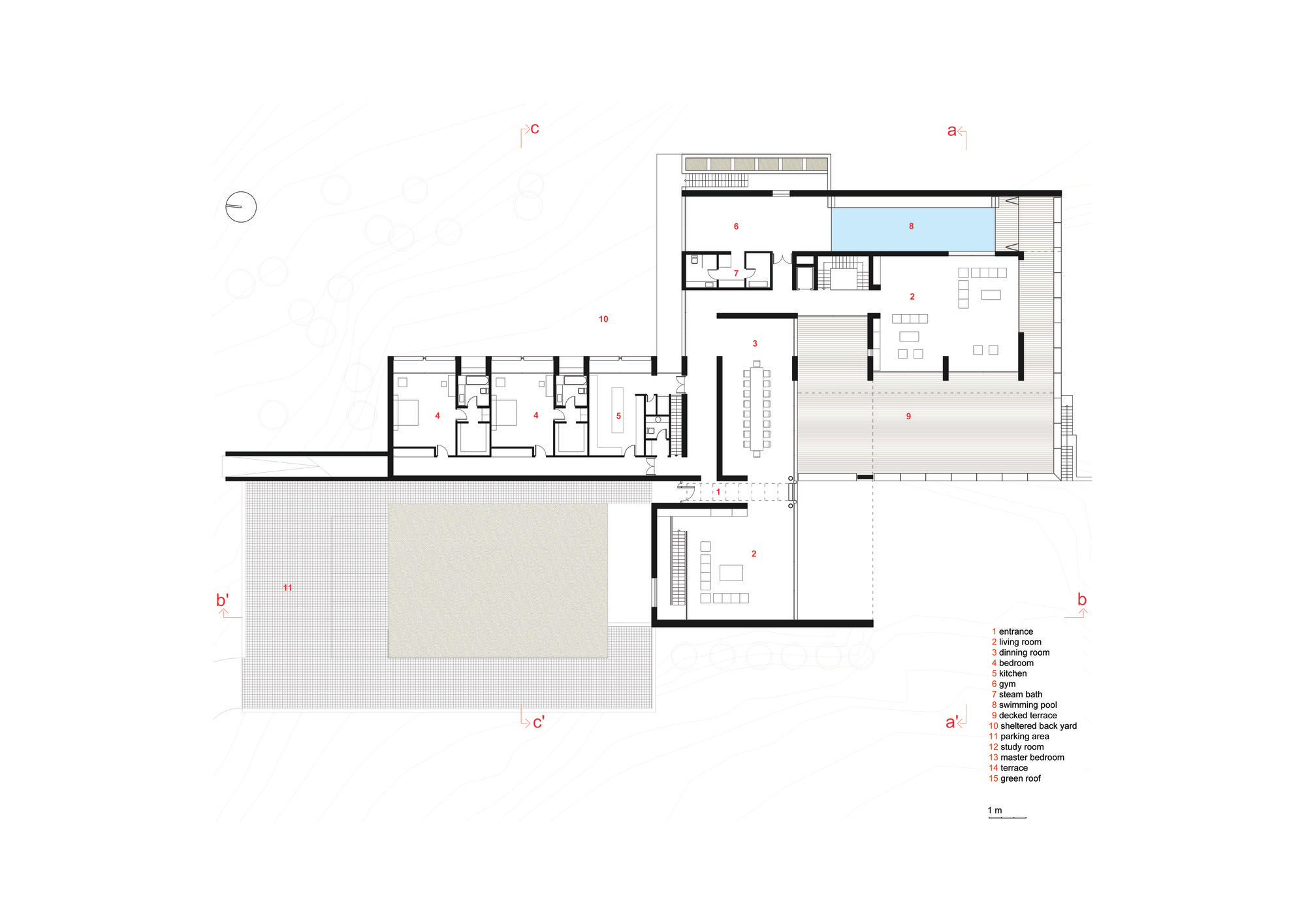 House B_Plan