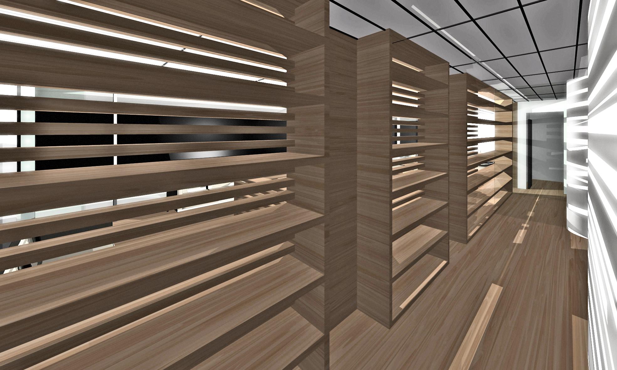 Corridor Shelves