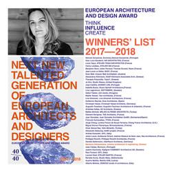 Europe 40UNDER40 Architecture Award