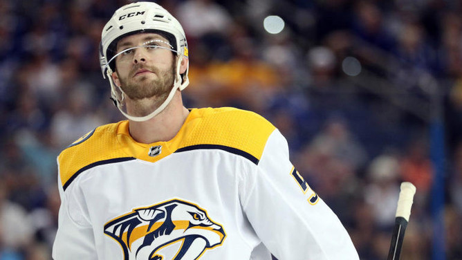 NHL's lack of Domestic Violence Policy put to the test in Austin Watson situation