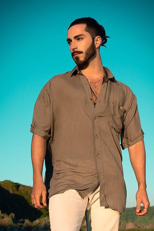 Camisa manga corta Olive