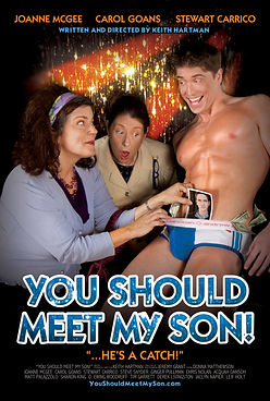 "Movie Poster for award winning gay comedy ""You Should Meet My Son!"""