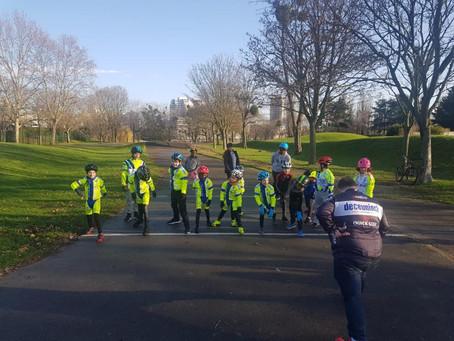 L'école de vélo déjà en action !