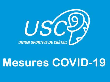 Les mesures liées au COVID-19