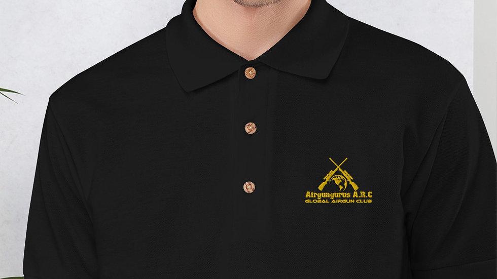 AGG Global Airgun Club Embroidered Polo Shirt