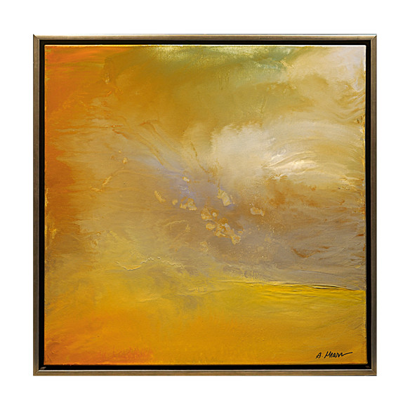 """Suzanne Wallace Mears  """"Esance of Summer"""" oil on canvas  36"""" x 36""""  $5,500.00"""