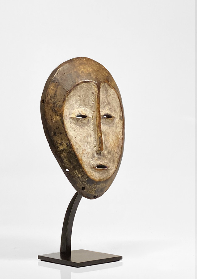 Custom mount for Lega mask, African Art