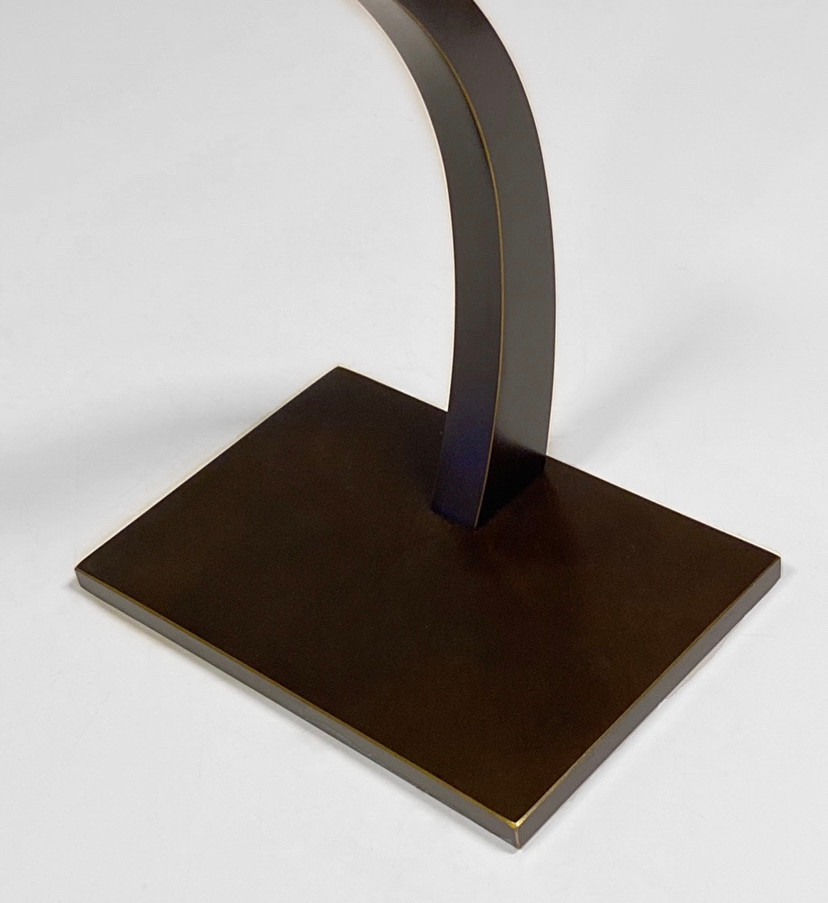 Bronze plate detail