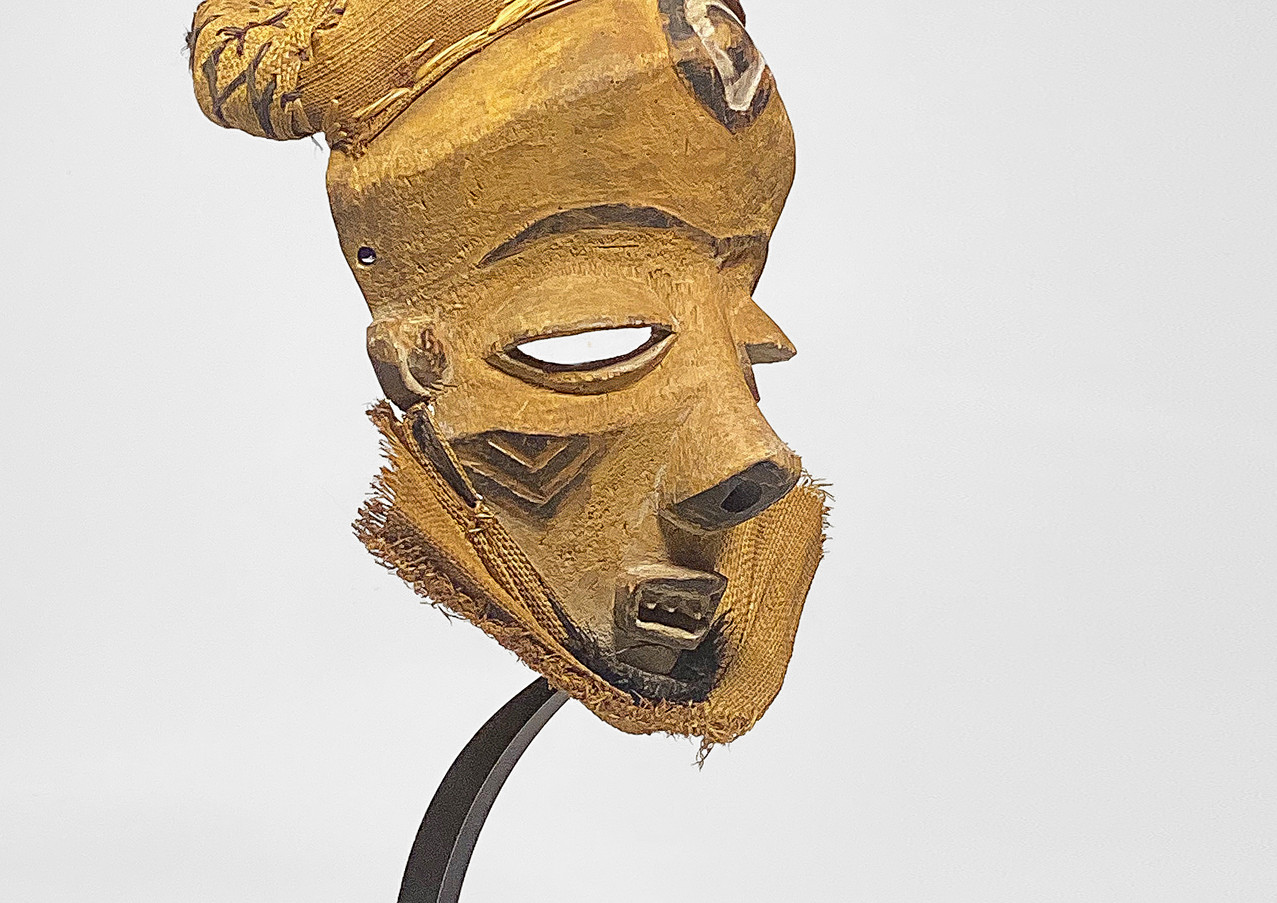 Custom Display Stand African Mask