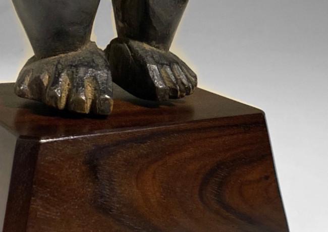 Custom Mount for African Art Rosewood