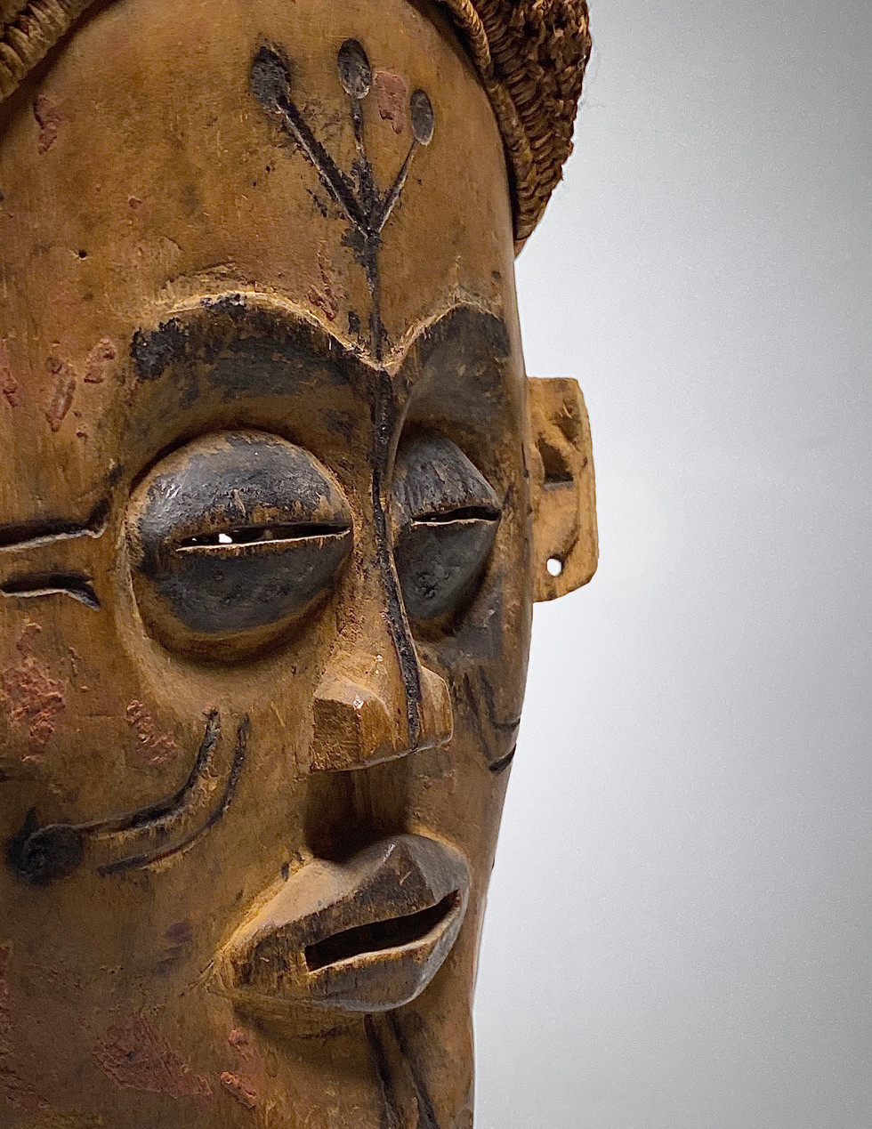 Chokwe mask Mwana Pwo Authentic African Art