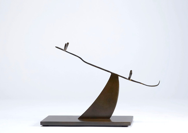 Horizontal object stand, Bezier