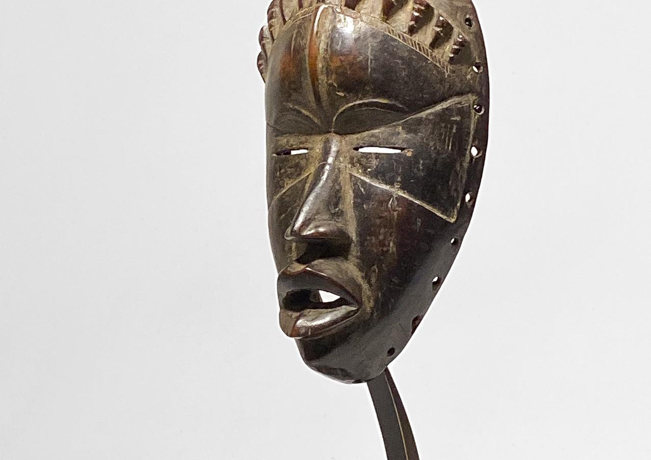 Lega mask with custom mount