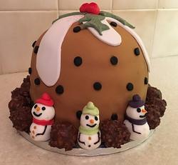 Christmas Pudding Cake