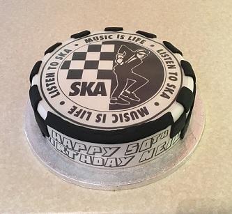 SKA Birthday Cake