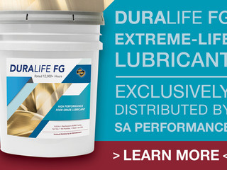 NEW! 12,000 HOUR Food Grade Lubricant – Exclusive to SA Performance
