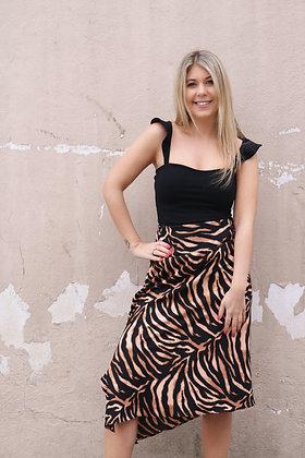 Brown Tiger Skirt