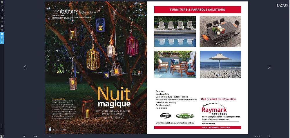 product magazine example