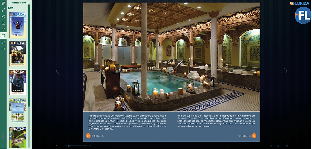 travel brochure example