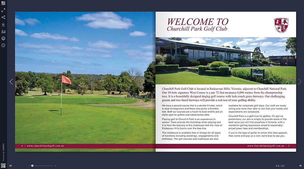 Churchill Park Golf Club