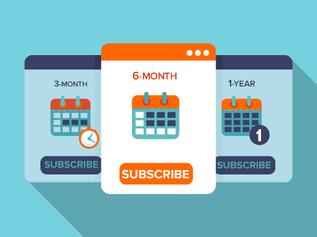 Three New Subscription Options