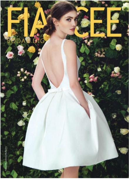 The script white dress