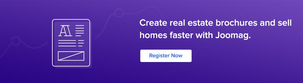 create real estate brochure
