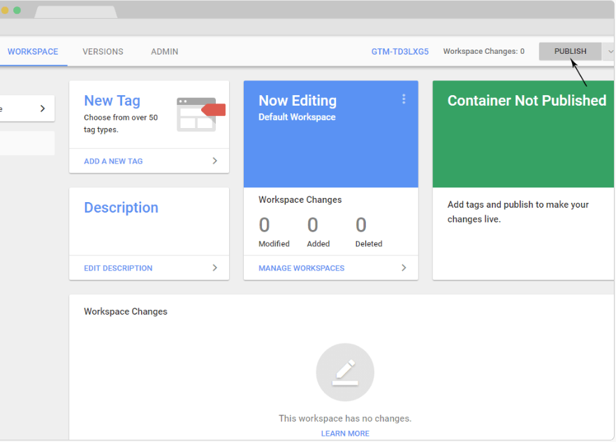 Google Tag Manager Integration with Joomag