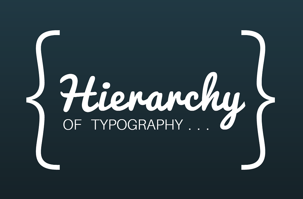 Hierarchy of Typography