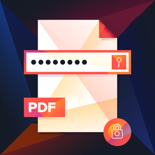 Password Protected PDFs!
