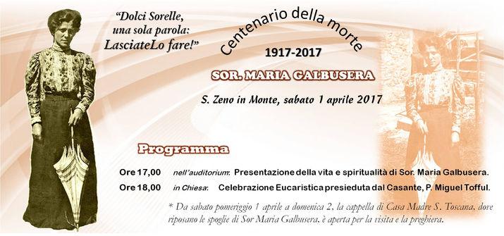 Celebrazione Sor. Galbusera a Verona