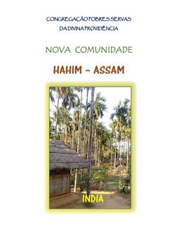 PROGETTO SOLIDARIETA' HAHIM-INDIA