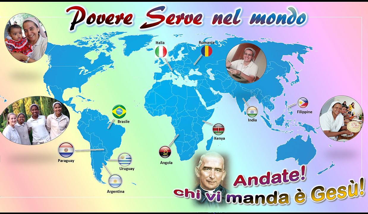 Povere Serve nel mondo