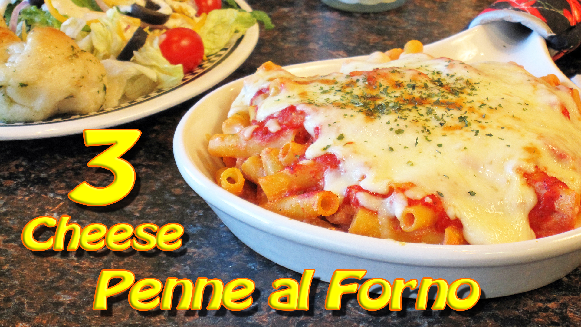 3 Cheese Penna Al Forno