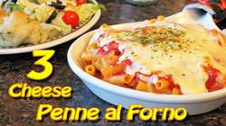 3 Cheese Penna Al Forno