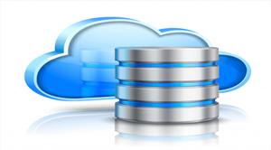 Image of backup with cloud computing
