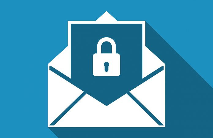 Image of email and security lock