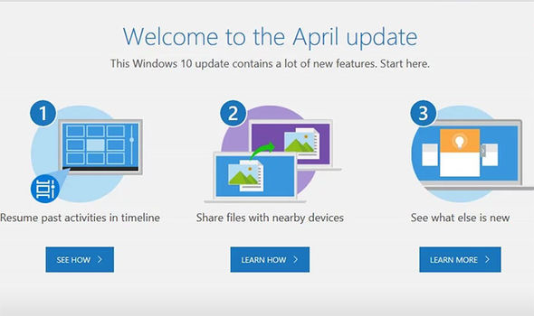 Windows 10 upgrade steps