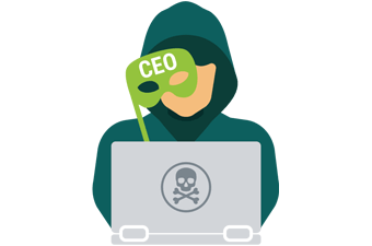 animated picture of a hacker trying to be a CEO