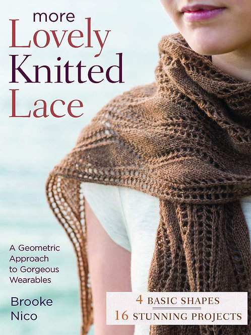 More Lovely Knitted Lace [Paperback]